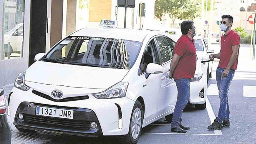 El taxi de Castellón pierde el 80% de facturación por la pandemia