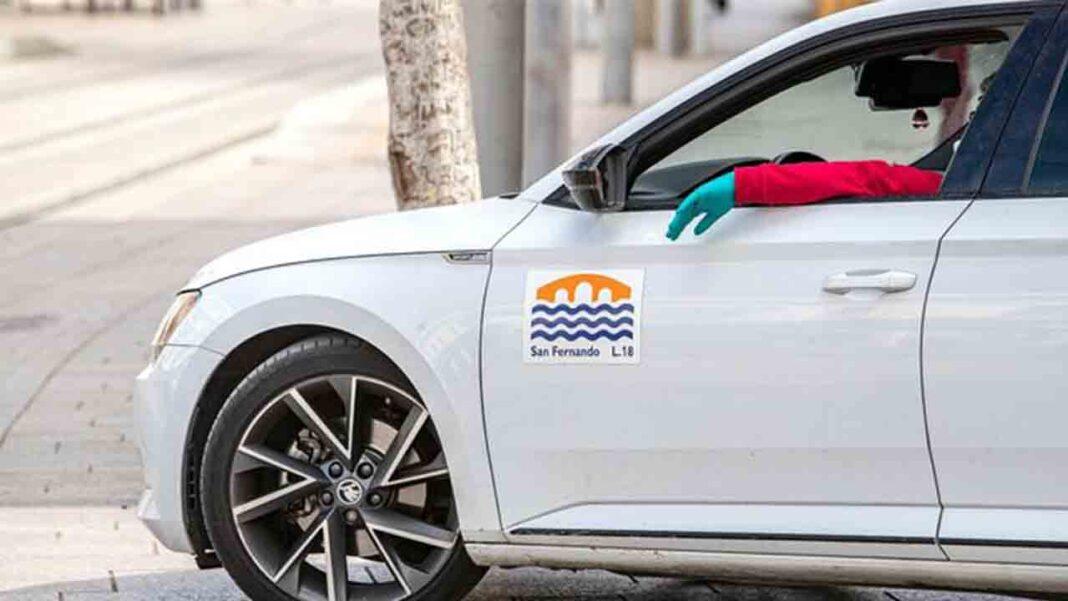 El taxi de San Fernando recupera poco a poco la actividad