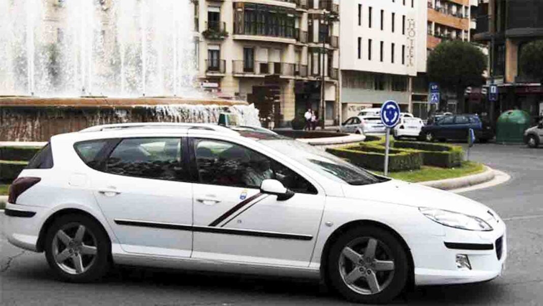 Los taxistas de Logroño frente al coronavirus