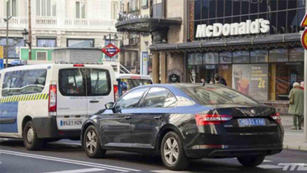 Los vehículos VTC deberán de comunicar todos los servicios vía electrónica