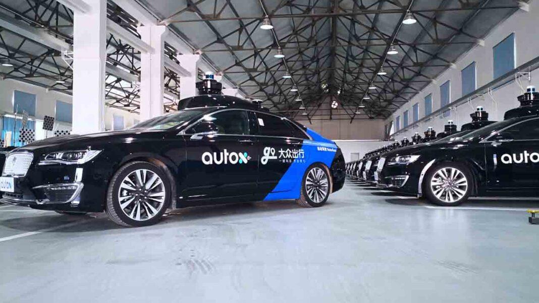 AutoX lanza un servicio de taxi aut贸nomo en Shanghai compitiendo con el programa piloto de Didi