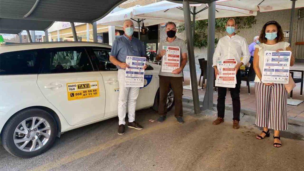 El taxi de Lorca se une a la campaña