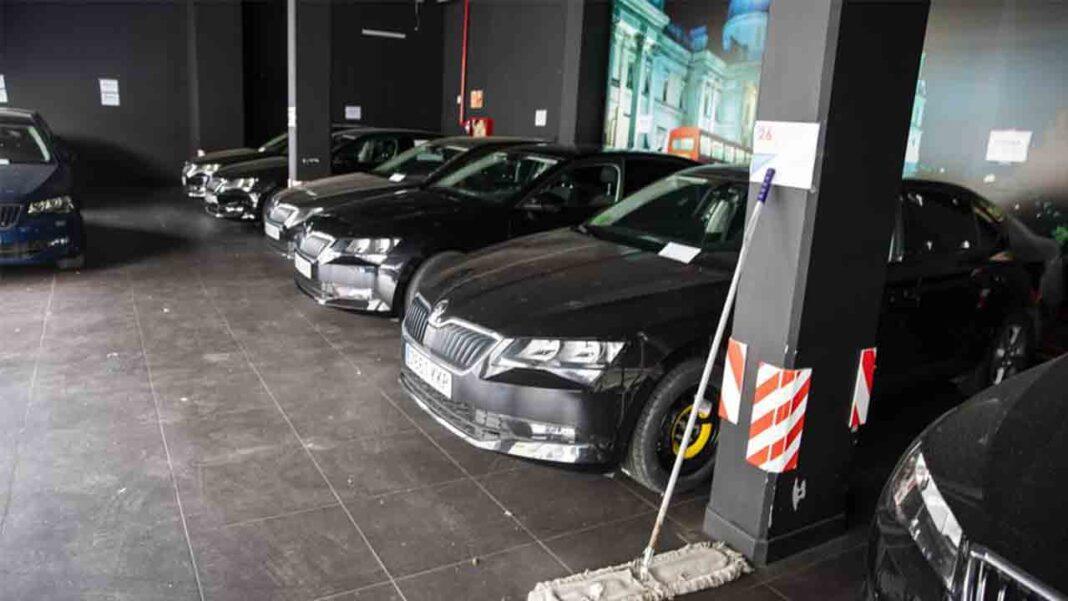Los VTC en Catalunya deberán de estar en aparcamientos y fuera de la vista de los transeúntes
