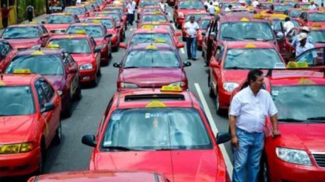 Hoy comienzan las protestas del Taxi de Costa Rica en San José