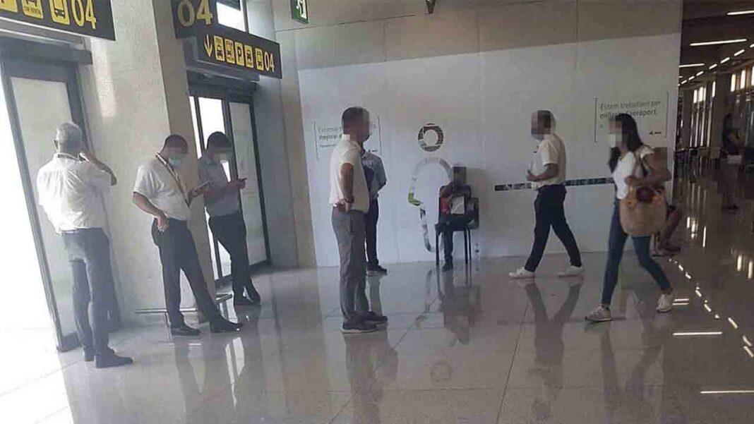 Los taxistas de Palma amenazan con movilizaciones en el aeropuerto por los piratas