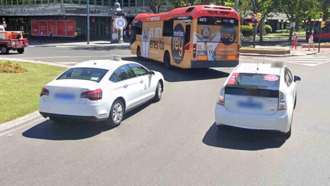 Los taxistas de Zaragoza trabajan al 40% en la nueva normalidad