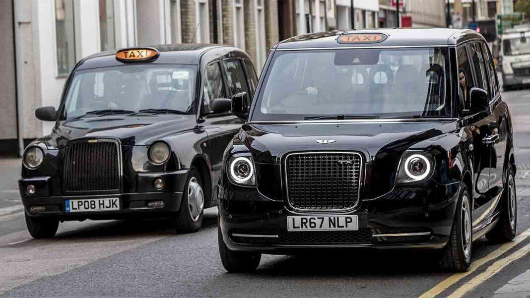 Los taxistas ingleses solicitan a hacienda ayudas para el sector