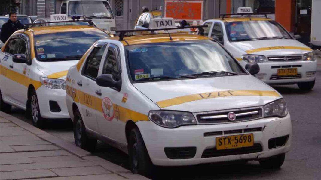 Los taxistas uruguayos comenzarán un paro por tiempo indefinido
