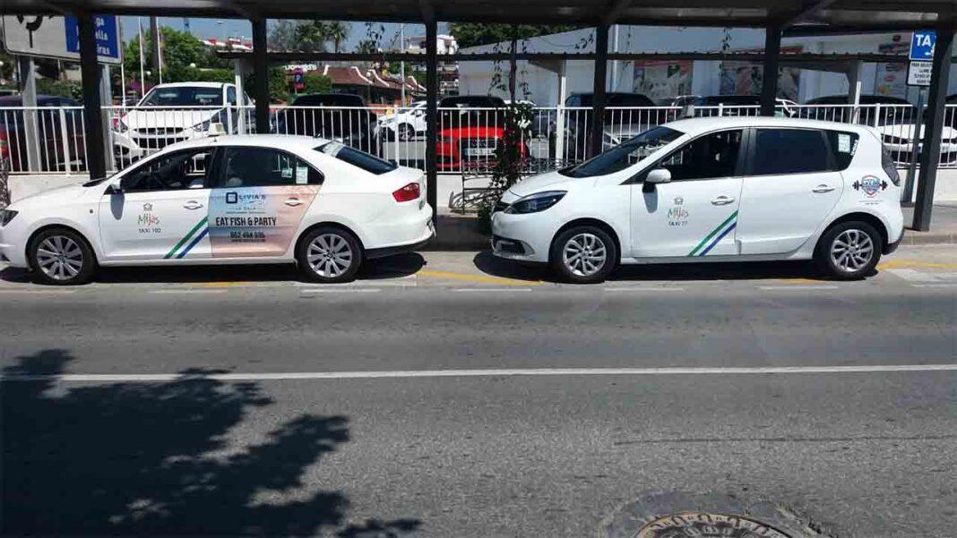 Los taxistas de Mijas trasladarán gratis al cementerio a las personas sin recursos