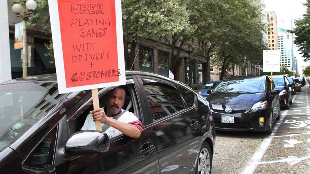 Uber tendrá que pagar un salario mínimo a los conductores de Seattle