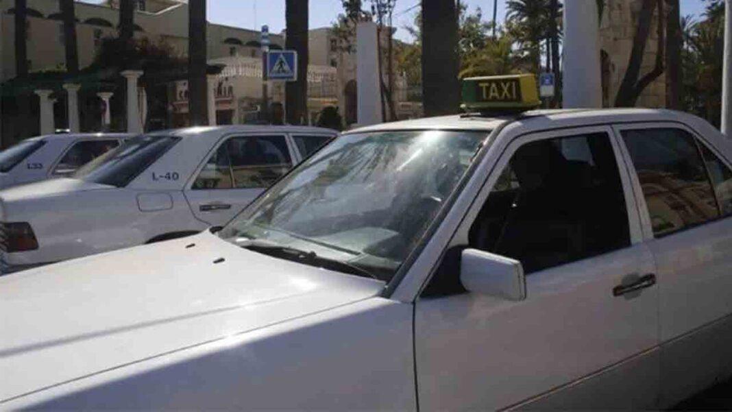 El confinamiento y el cierre de la hostelería agravia la crisis del taxi en Melilla