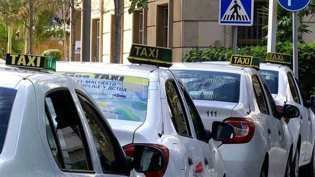 El sector del taxi en Ceuta anuncia un paro ante la falta de ayudas