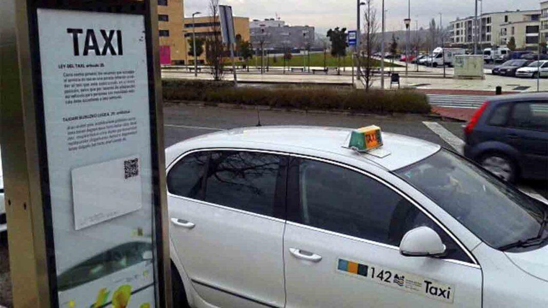 El sector del taxi en Pamplona calcula las perdidas generadas por la pandemia en 5,5 millones de euros