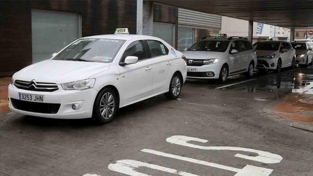 El toque de queda golpea al sector del taxi en Castellón