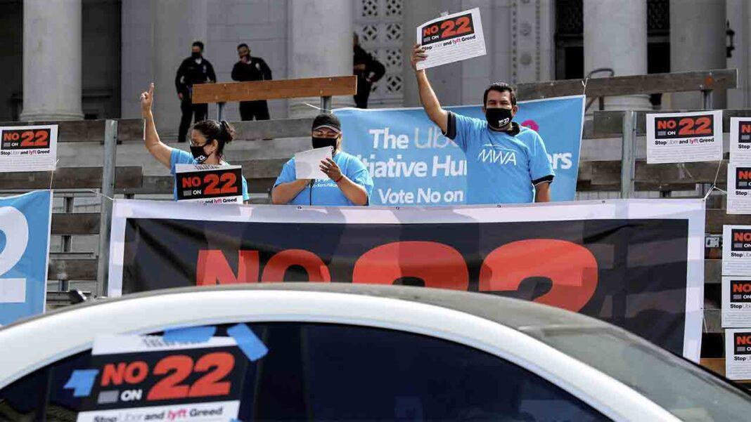 Elecciones EE.UU.: Uber & Co. esperan en California el resultado