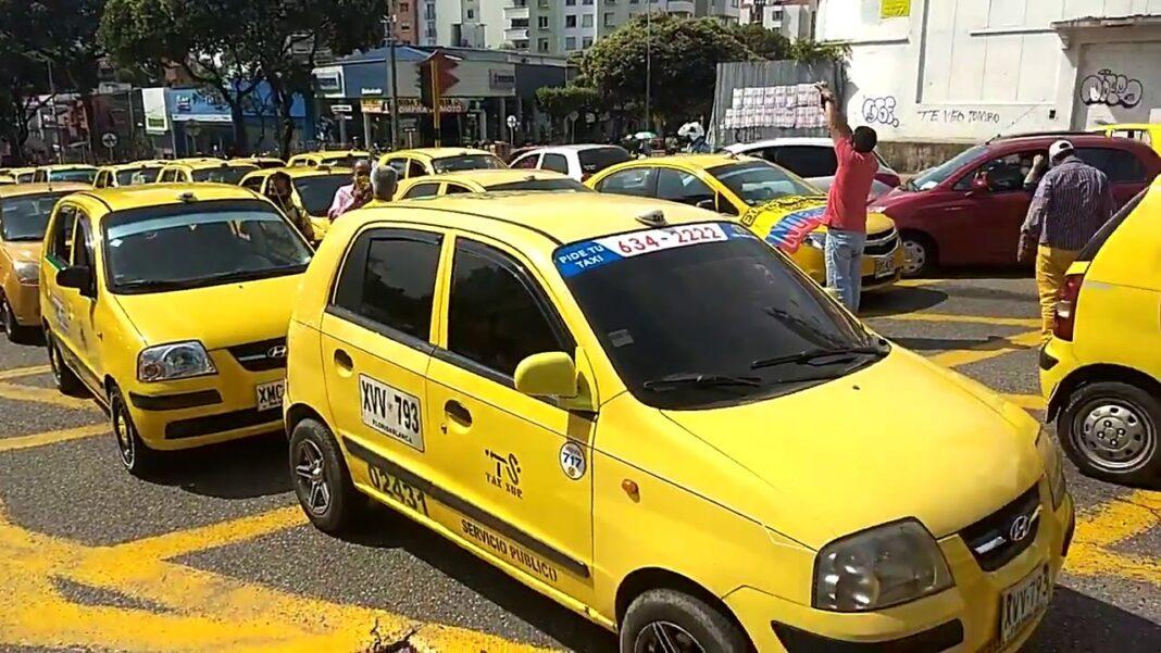 Colombia contra Uber: Protesta de los taxistas en Bucaramanga