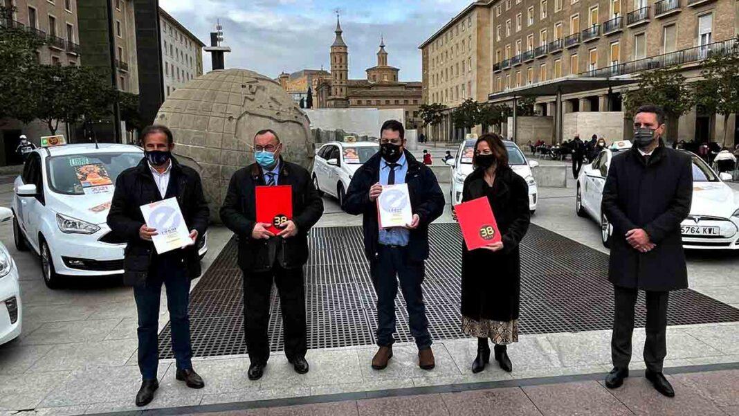 Convenio entre Radio Taxi Aragón y CERMI para ayudar a las personas con discapacidad