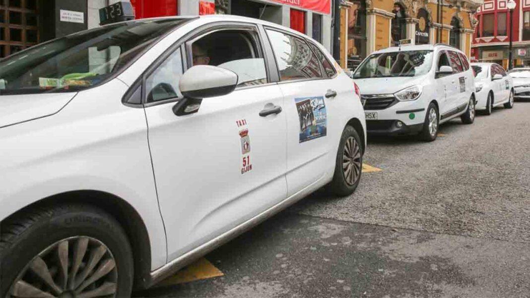 Los taxis de Langreo reducen su flota a una cuarta parte
