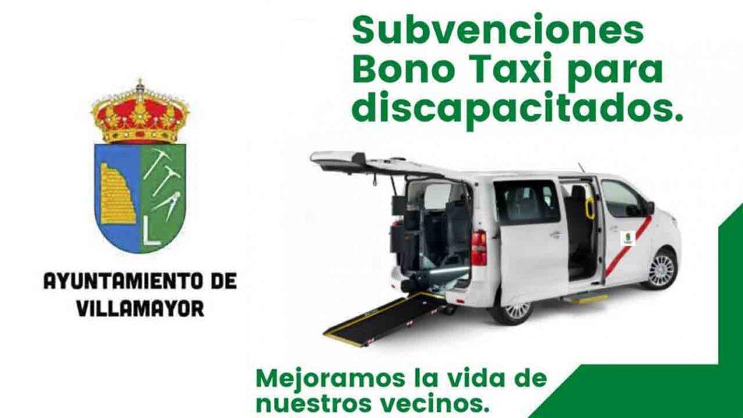 Villamayor concede ayudas de bono taxi a personas discapacitadas