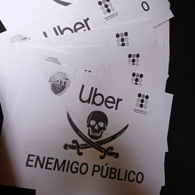 Élite Taxi y Taxi Project comienzan una campaña de concienciación contra Uber