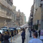 5.000 taxis de Barcelona en marcha lenta contra Uber