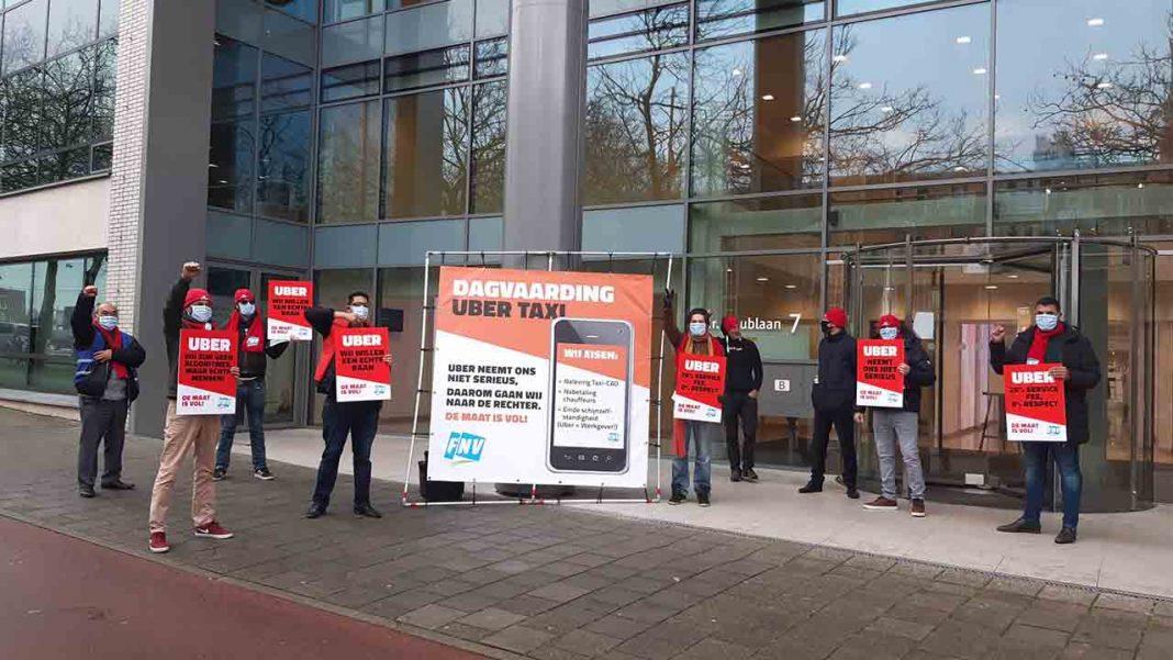 El sindicato FNV en Paises Bajos y su demanda contra Uber