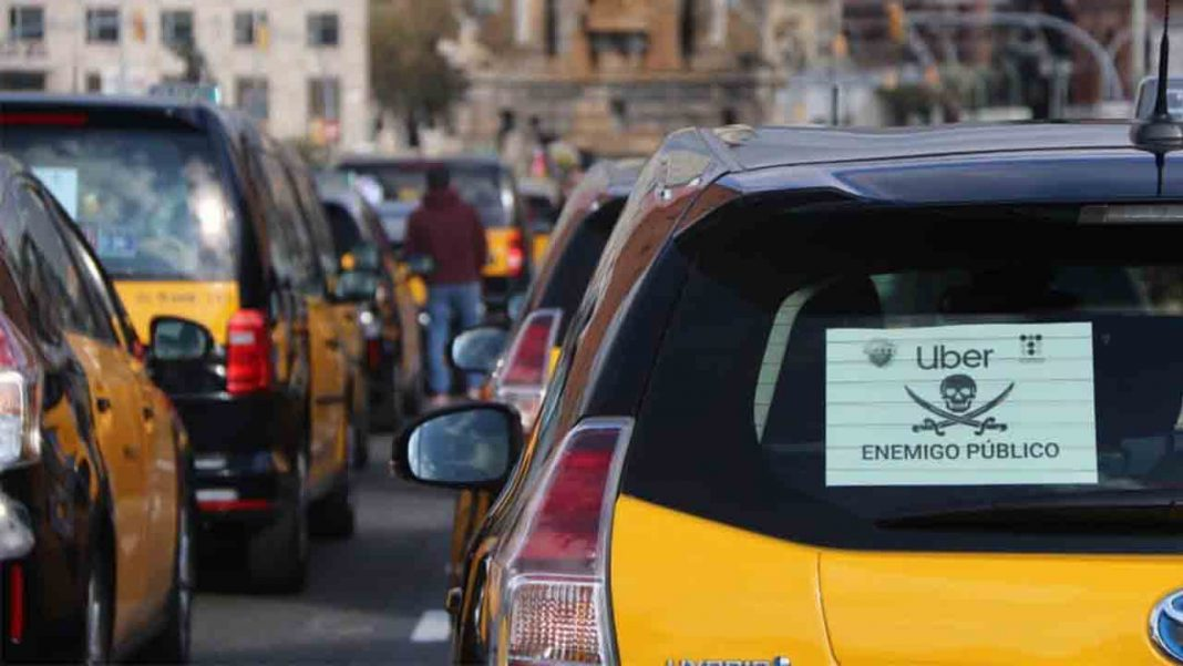 Uber is Missing in Barcelona