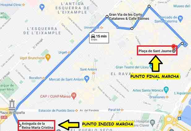 Vuelven las movilizaciones del taxi de Barcelona ante la inacción de las administraciones
