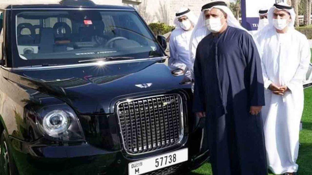 La flota de taxis de Dubai será 100% eléctrica o híbrida para 2027