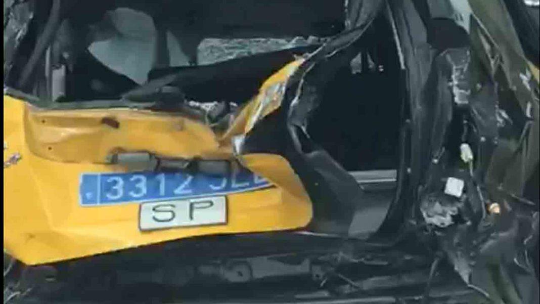 Herido un taxista de Barcelona por un accidente en Tordera