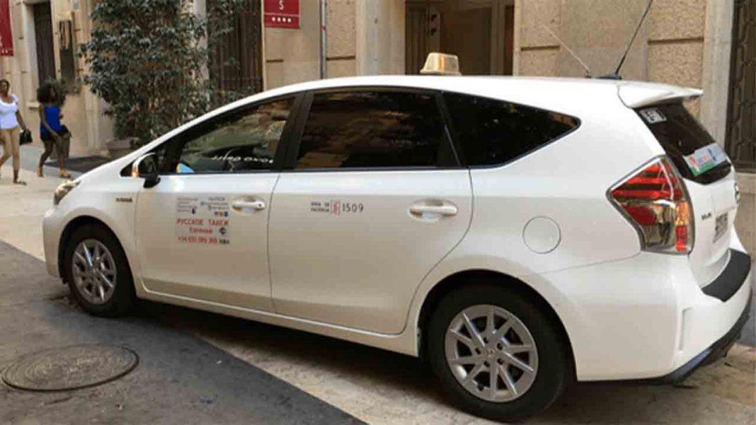 Los taxis de València no aplicarán las tarifas festivas en las Fallas