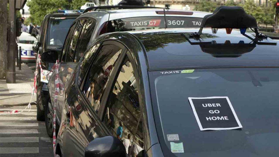 Uber tendrá que pagar 180.000 euros de multa a 910 taxistas de Francia
